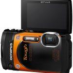 Olympus TG-860 Orange LCD Display Open
