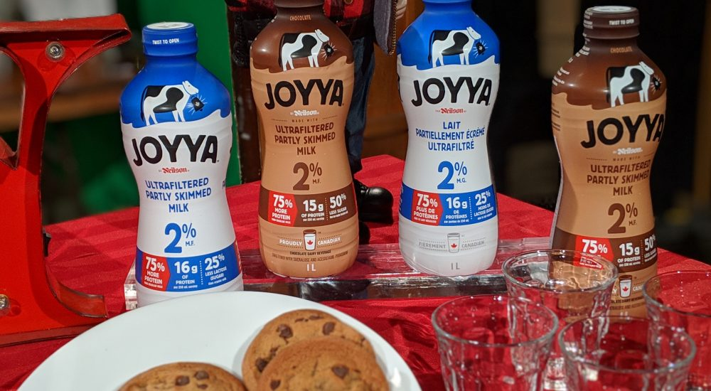 Have you tried Canadian made Joyya Ultrafiltered Milk?
