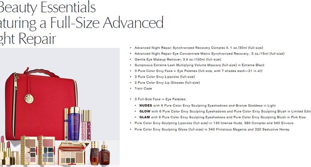 Day 5 of The Taylor Kaye Giveaway -Estee Lauder Gift Set worth $550